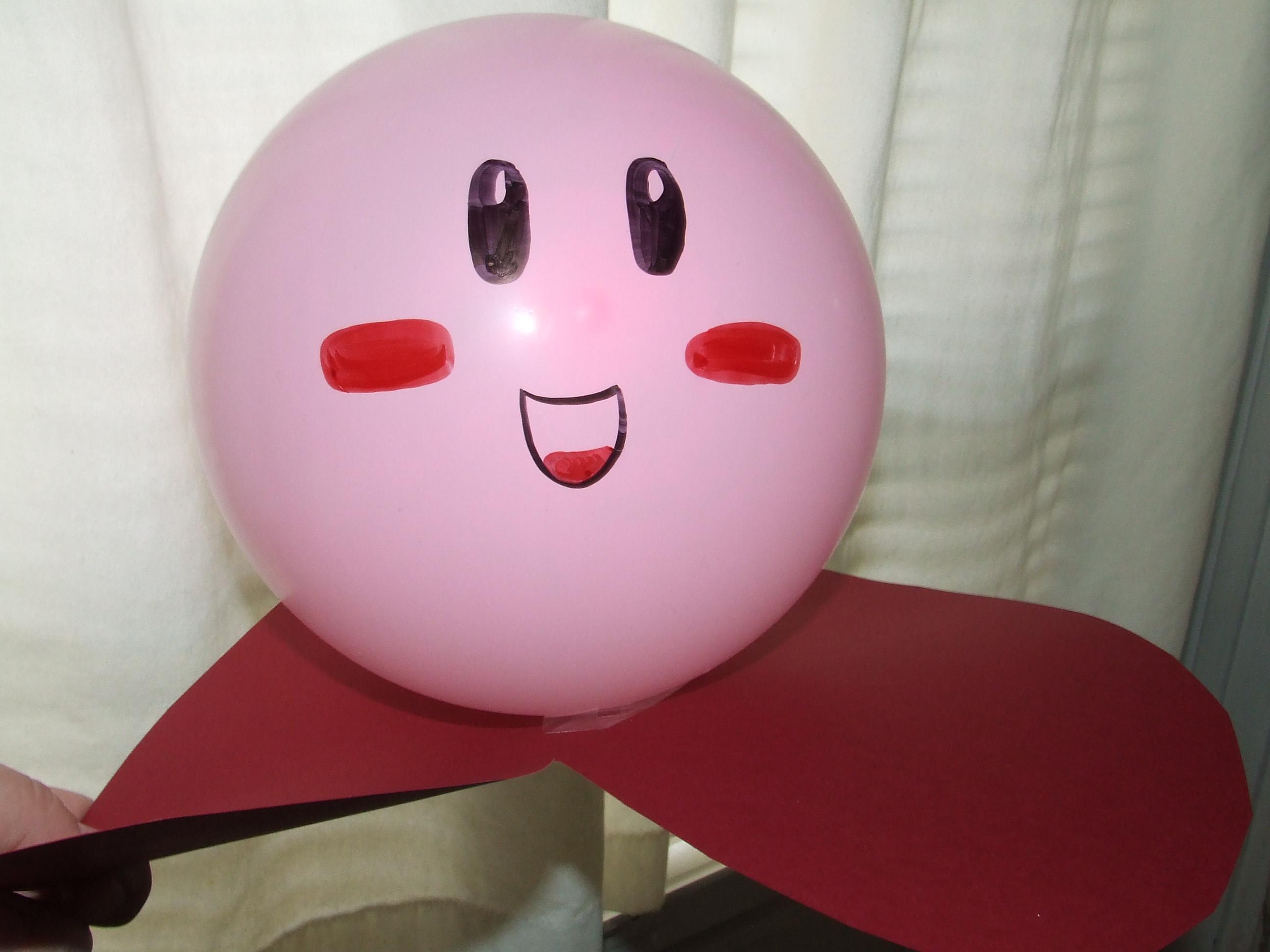 DIY Kirby Birthday Party